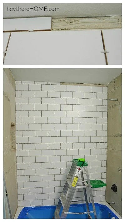 how to tile a tub surround