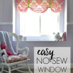 The Easiest No Sew Window Valence Ever