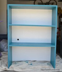 Who says a girl can't DIY shelves and make an old filing ...