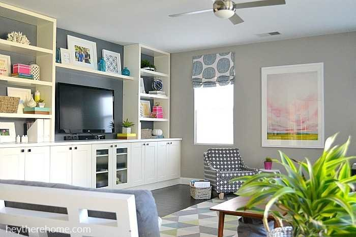 living room cabinets built in brown suite ideas diy using ikea and shelves hack how to create a out of