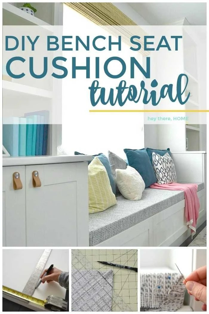how to reupholster a chair cushion corner cosco folding chairs padded make bench seat with box corners diy tutorial