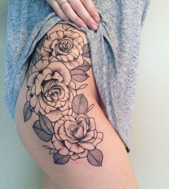 Tatuajes De Rosas Diseños Para Hombres Y Mujeres Con Sus Significados