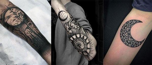 40 Tatuajes De Lunas Conoce Sus Diferentes Diseños Y Significados