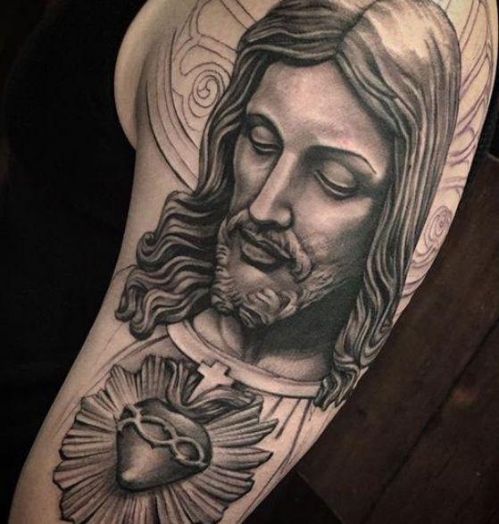 20 De Santos En El Brazo Tattoos Ideas And Designs
