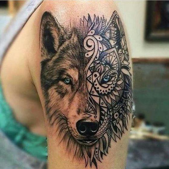 50 Tatuajes De Lobos Diseños Y Significados Para Hombres Y Mujeres