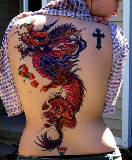 Tatuajes De Dragones Diferentes Tipos De Dragon Y Significados