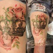 tatuajes de coronas diseos
