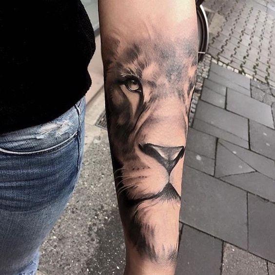 Tatuajes De Leones Para Hombres Mujeres Y Sus Diferentes Significados