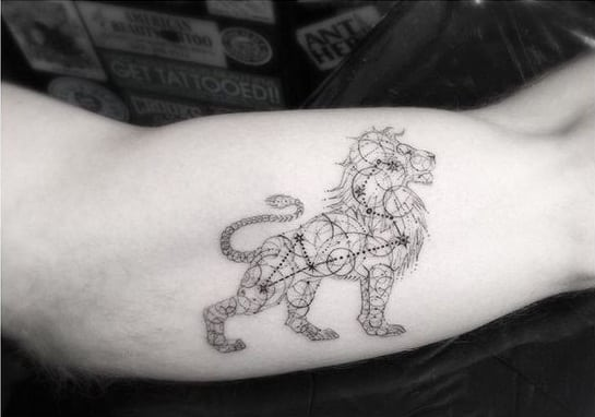 Tatuajes De Constelaciones Diferentes Diseños Para Mujeres Y Hombres