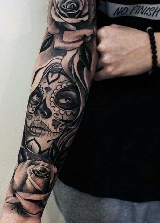 60 Tatuajes De Catrinas Diseños Significados Y Su Representación