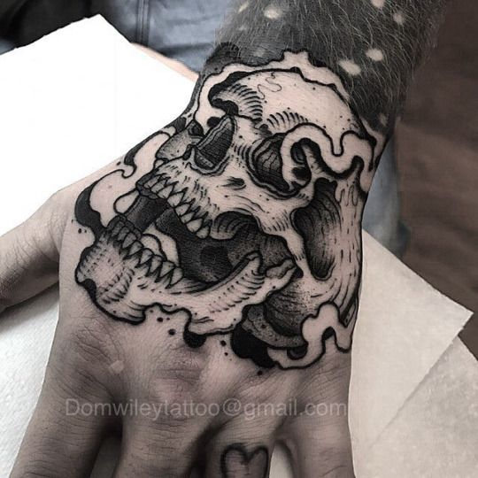 Tatuajes En La Mano Diseños Para Hombres Y Mujeres Con Significado