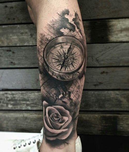 Tatuajes En Las Piernas Diseños Para El Muslo Y Pantorriila