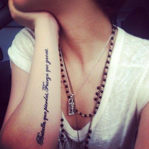 Frases Para Tatuajes Cortas Originales Y Con Gran Significado