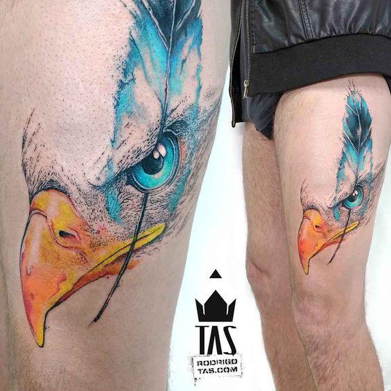 Tatuajes De águilas Sus Significados Y Diseños Imponentes