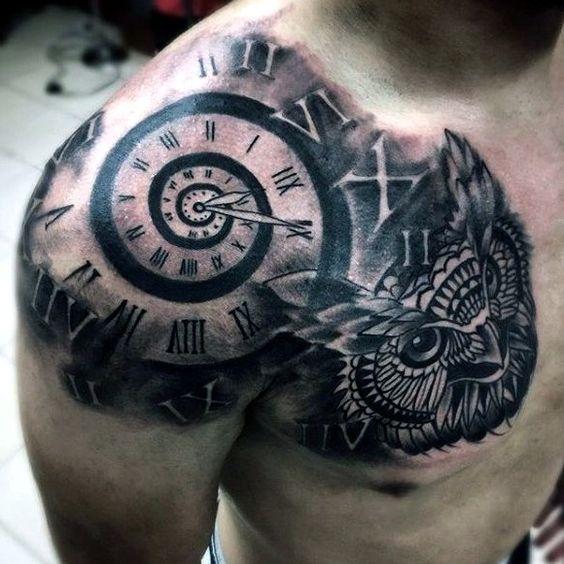 18 Ideas De Tatuajes Para Hombres En El Hombro Que Te Encantarán Soy
