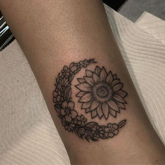 Tatuajes Yin Yang Sol Y Luna