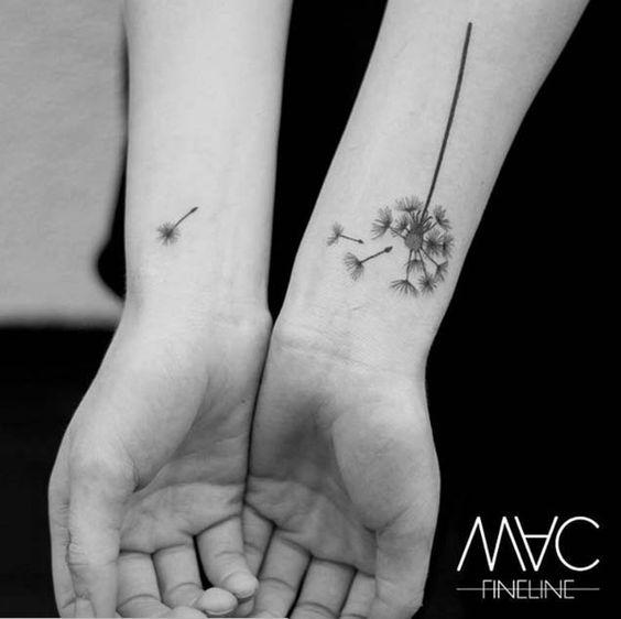 Tatuajes De Diente De León Diseños Y Estilos Para Mujereshombres