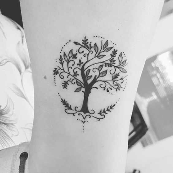 Tatuajes De árbol De La Vida Mejores Significadoshombres Y Mujeres