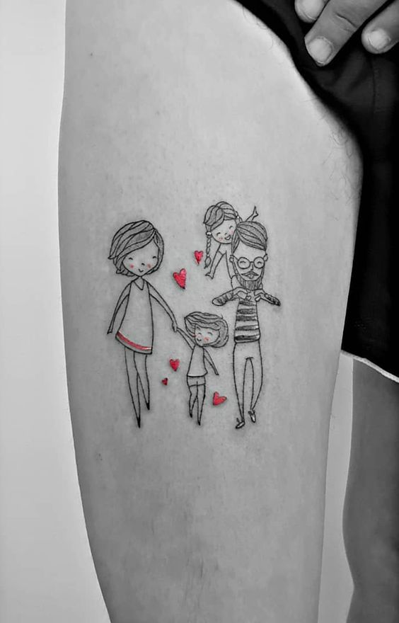 Tatuajes De Familia Simbolos Que Representan Esa Gran Unión