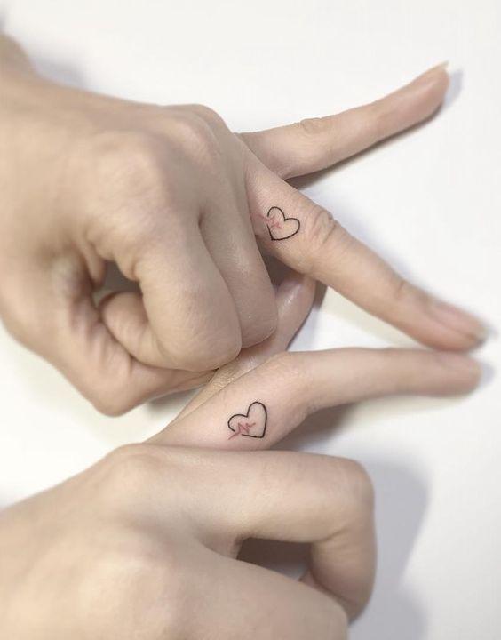 Tatuajes Sencillos Diseños Pequeños Grandes Para Parejas