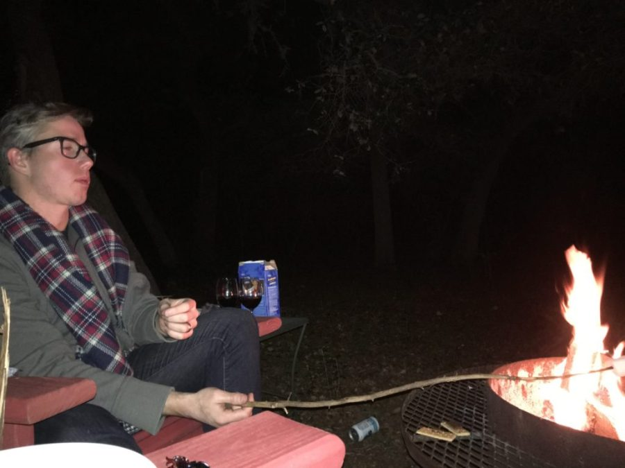 Roasting Marshmallows in Wimberley, Texas