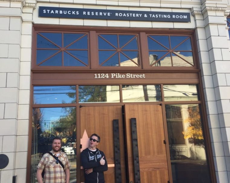 Starbucks Reserve Roastery & Tasting Room Seattle WA