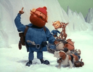 Yukon Cornelius from Rudolph Claymation Movie