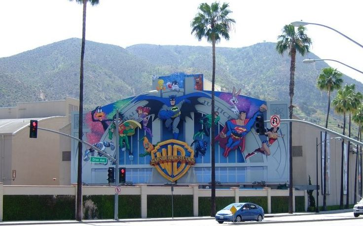 Warner Brothers Studio in Burbank