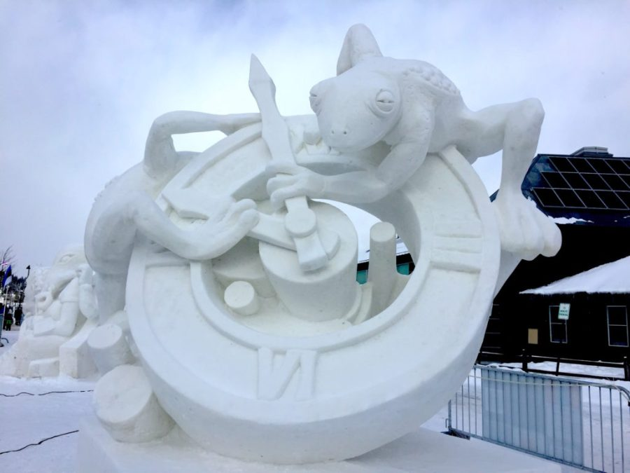 2018 Breckenridge snow sculpture