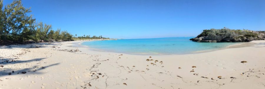Panoramic of Forbes Hill Beach