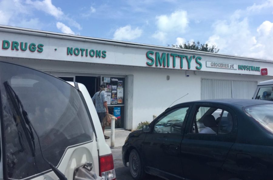 Smittys market up by hoopers bay beach