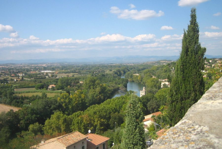 View from Church of Beziers, France