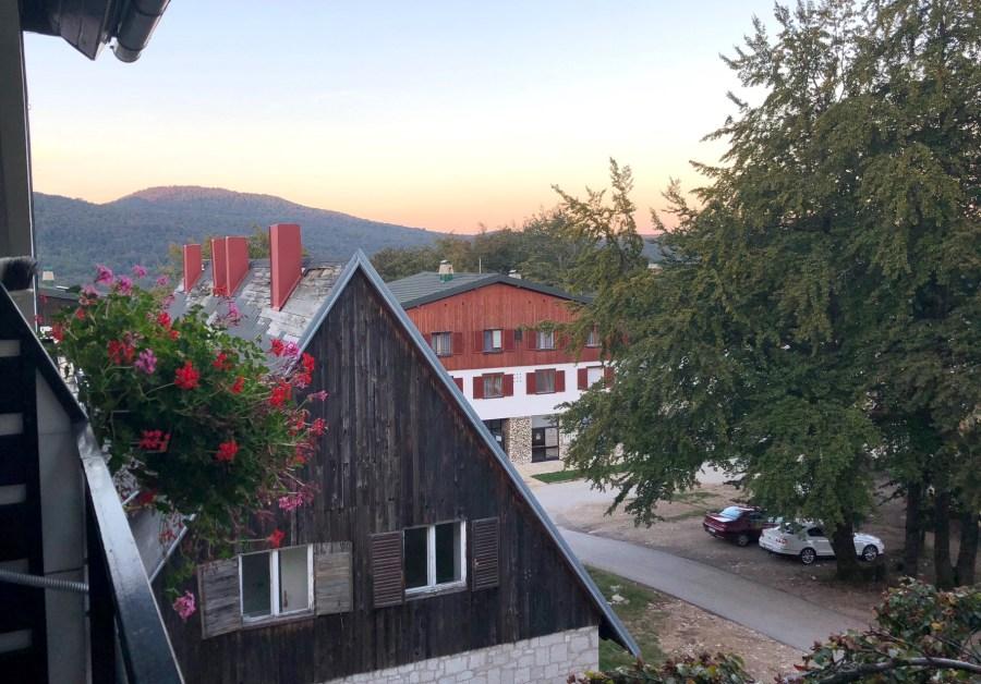 Mukinje Village near Plitvice Lakes National Park, Croatia