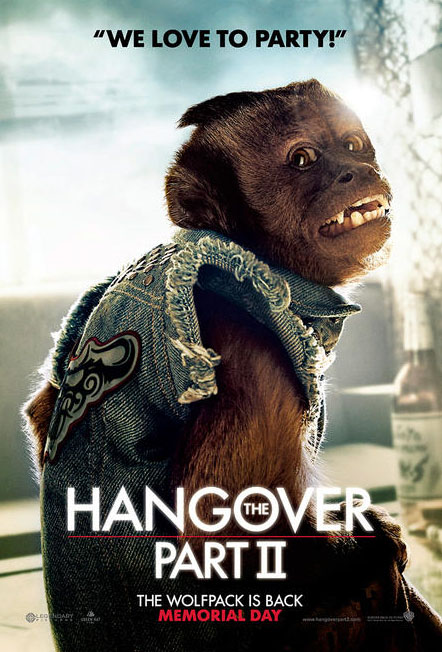 hangover 2, mic jagger as a monkey?