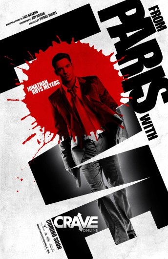 From Paris With Love Poster - John Rhys Meyers