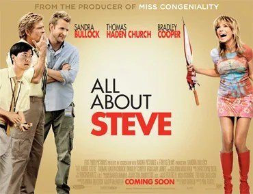 All About Steve Poster
