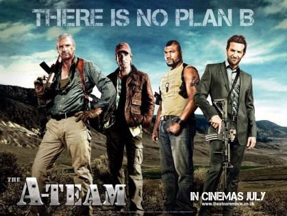 A-Team Poster Quad