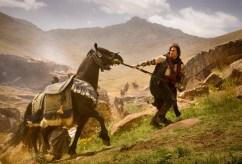 Jake Gyllenhaal & Horse - Prince of Persia