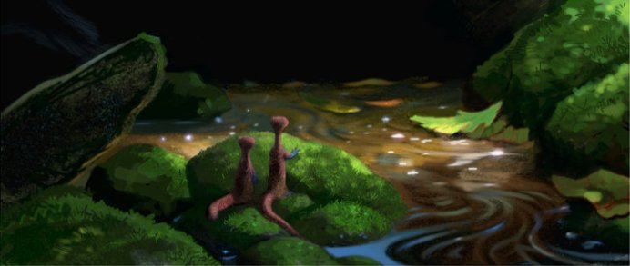 Beautiful Concept Art For Pixar S Newt Appears Heyuguys