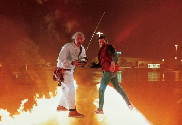 Back to the Future - Michael J. Fox & Christopher Lloyd