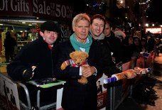 Morning Glory UK Premiere - Harrison Ford and Teddy