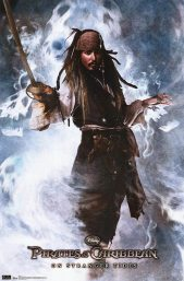 Pirates of the Caribbean Poster - Johnny Depp