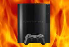 PS3 In Flames