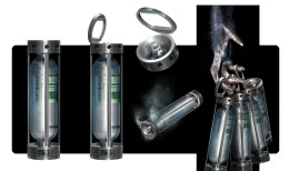 Canister Concept Art: Rise of the Planet of the Apes Concept Art: Gen Sys Serum Canister
