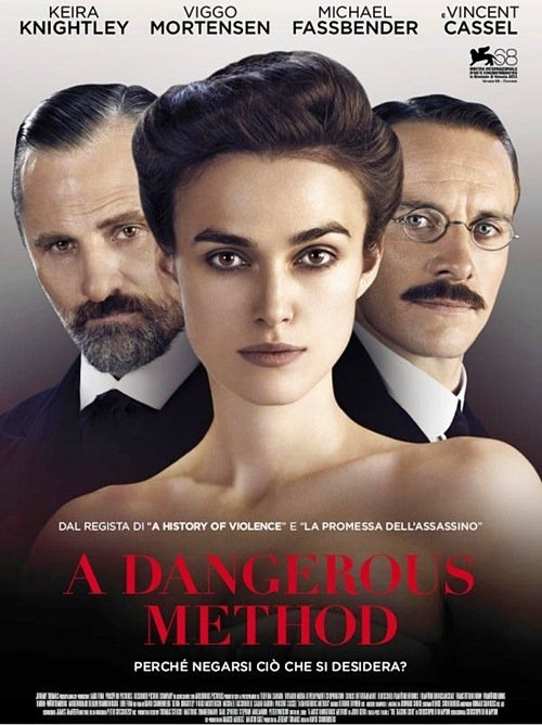 A Mostly Harmless Poster for A Dangerous Method - HeyUGuys A Dangerous Method Poster