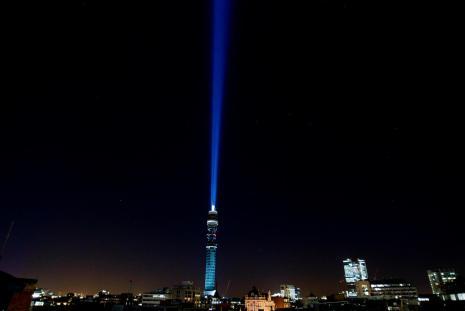 BT Tower Lightsaber 2