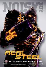 Real Steel Poster - Noisy Boy