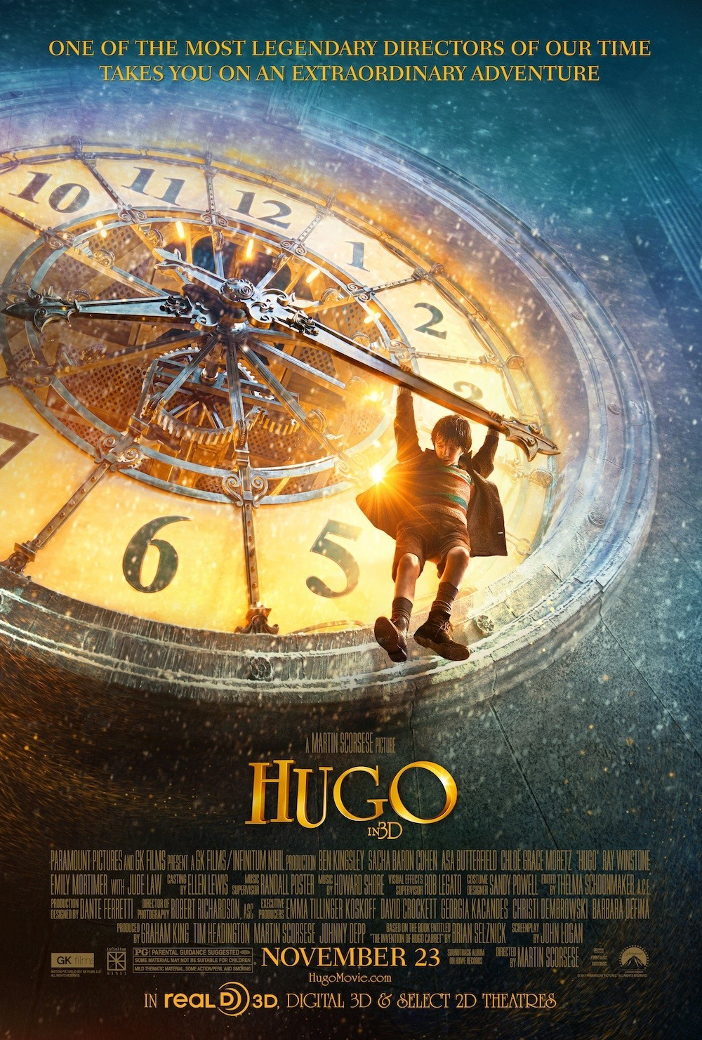A Christmas Carol Poster.Another New Poster For Martin Scorsese S Hugo Looks Like A