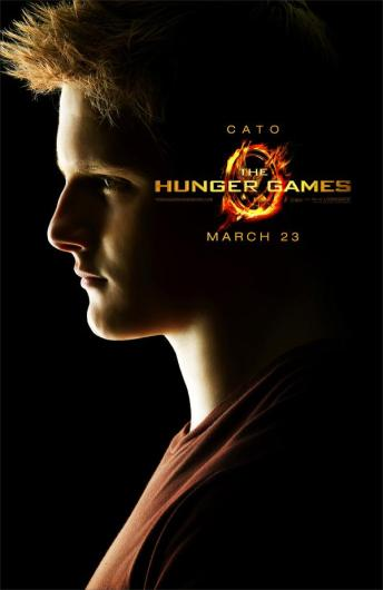 The Hunger Games Poster - Cato