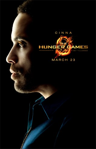 The Hunger Games Poster - Cinna